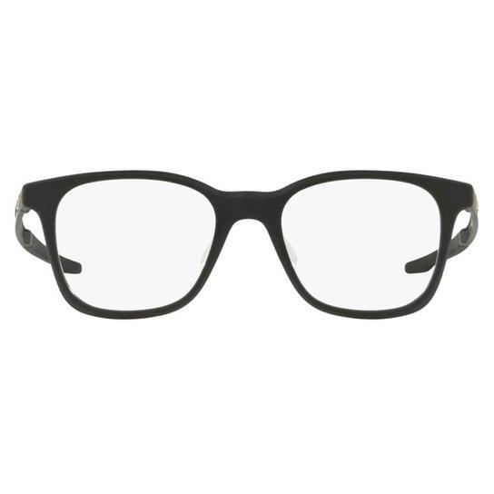 bfaa3e88d0a4f Armação Óculos de Grau Oakley Milestone Xs Kids 0OY8004 01 45 - Preto