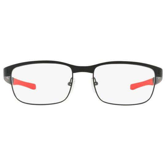 Armação Óculos de Grau Oakley Surface Plate 0OX5132 04 54 - Preto ... 97f4ff626e