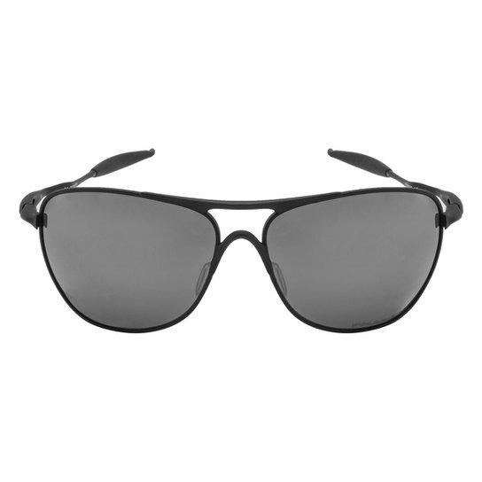 c454b96d0f448 Óculos de Sol Oakley Crosshair Matte Black   Black Iridium Polarized -  10 61 -