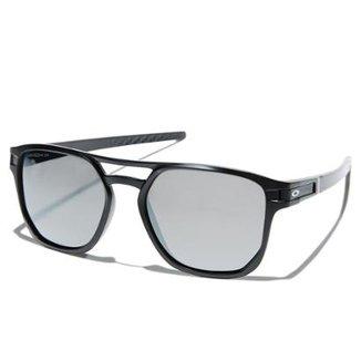 144537227c860 Óculos Oakley Latch Beta Matte Black   Lente Prizm Grey