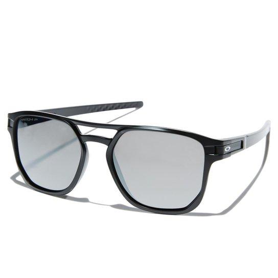 37eda78f8c Óculos Oakley Latch Beta Matte Black / Lente Prizm Grey | Zattini