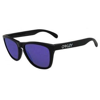 a0b4f54e924ef Óculos de Sol Oakley Frogskins Iridium