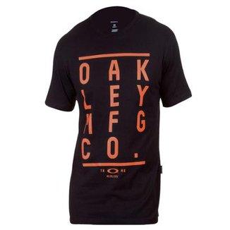 88a8845f8 Camiseta Oakley Kerning Tee Masculina