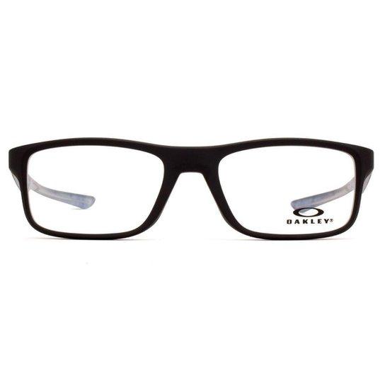 d53738942 Óculos de Grau Oakley Plank OX Masculino - Preto   Zattini
