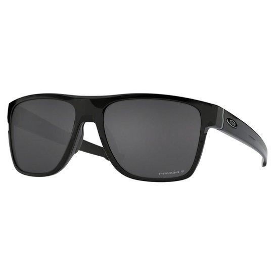 ca2bf5ab1 Óculos de Sol Oakley Crossrange XL Polarizado Masculino - Preto ...