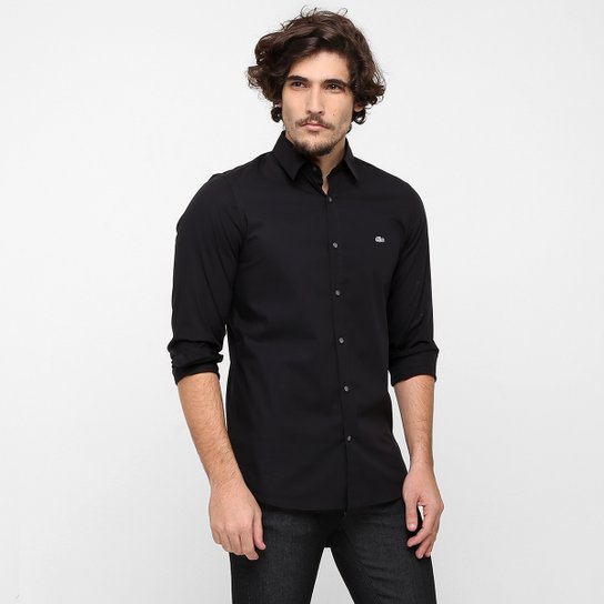 Camisa Lacoste Slim Fit Lisa - Compre Agora  6b483845b18c8