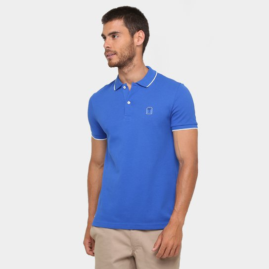 61cb8ee73a3bb Camisa Polo Lacoste Piquet Regular Fit Icon Celebration - Compre ...