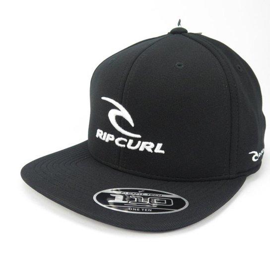 Boné Rip Curl GM Team Aba Reta Snap Preto - Compre Agora  ab0401d77fc