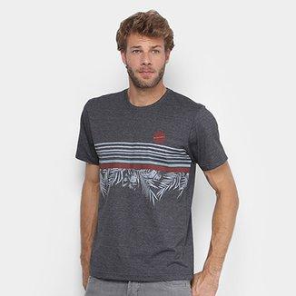 Camiseta Rip Curl Floral Stripes Masculina 53329ced7d645