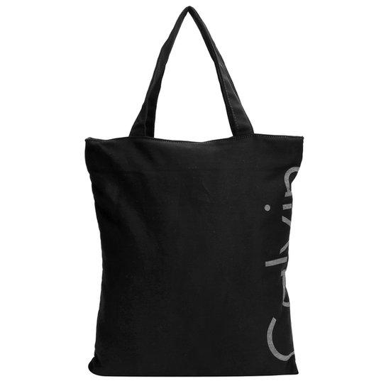 af725c020 Bolsa Calvin Klein Shop Bag Básica Logo - Compre Agora | Zattini