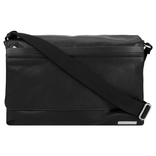 Bolsa Carteiro Calvin Klein Logo Metal - Compre Agora   Zattini 64b1d919d8