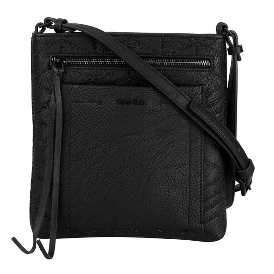 Bolsa Calvin Klein Transversal Monograma - Compre Agora   Zattini 4970d331d1