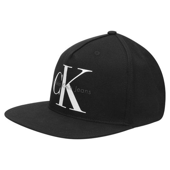 5e99bda5946de Boné Calvin Klein Logo CK - Compre Agora   Zattini