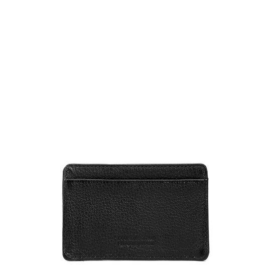 242a9a2533a04 Porta-Cartões Couro Calvin Klein Básico Logo Masculina - Compre ...