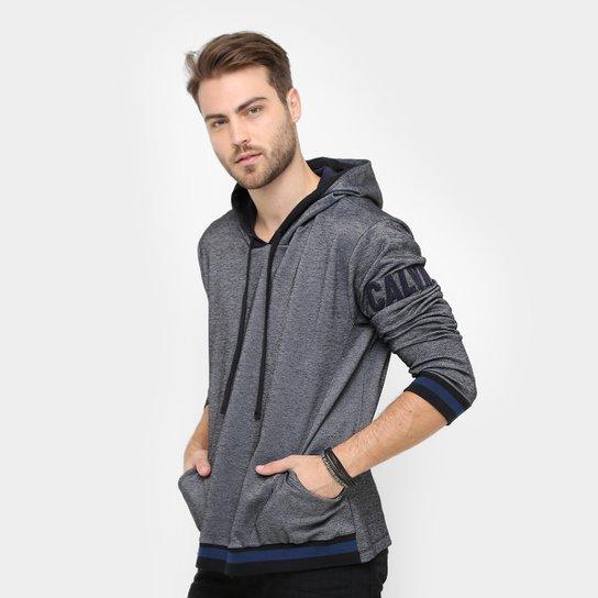 49f014d992ba3 Moletom Calvin Klein Tinturado Patch Logo - Compre Agora   Zattini