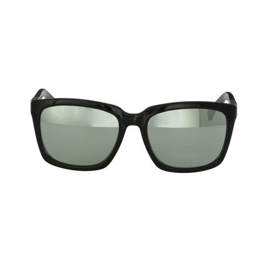 e55dba212 ... cd095139ee593 Óculos de Sol Calvin Klein Casual Preto - Compre Agora ...