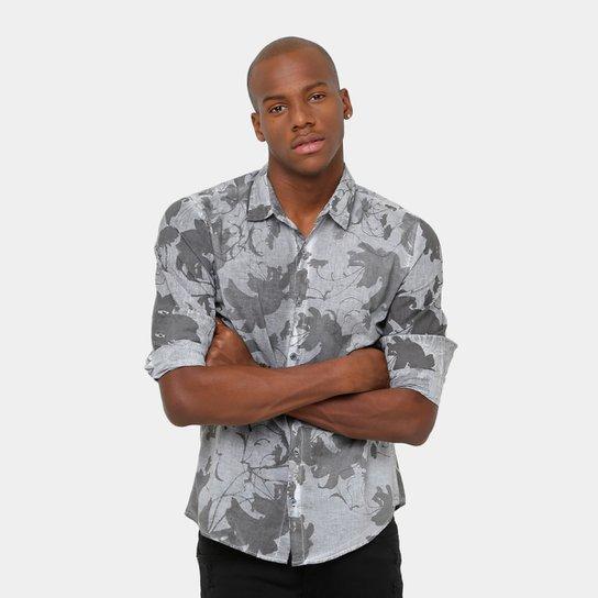 e7daa3b72dcf0 Camisa Calvin Klein Floral Strone Masculina - Compre Agora