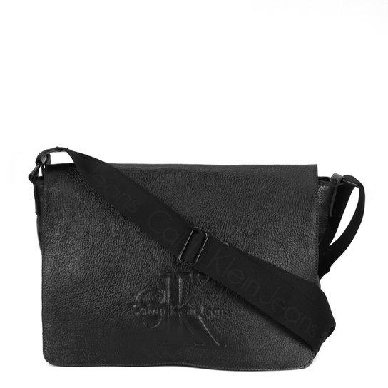Bolsa Couro Calvin Klein Carteiro Masculina - Compre Agora  1e604088c53