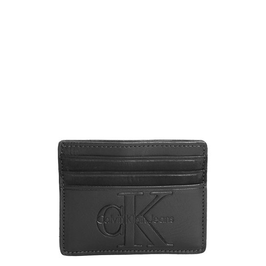 690fddbfda Carteira Couro Calvin Klein Porta Cartão Masculina - Compre Agora ...