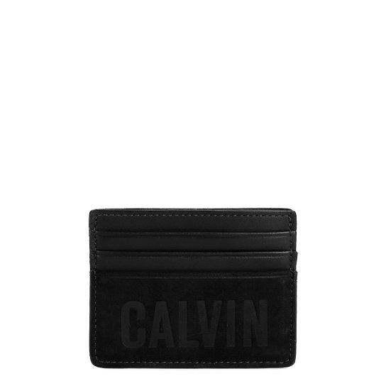 9712849e0 Carteira Couro Calvin Klein Porta Cartão Masculino | Zattini