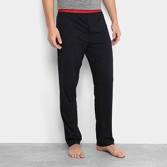 ddfc3bd20 Calça de Pijama Calvin Klein Elástico Estampado Masculina