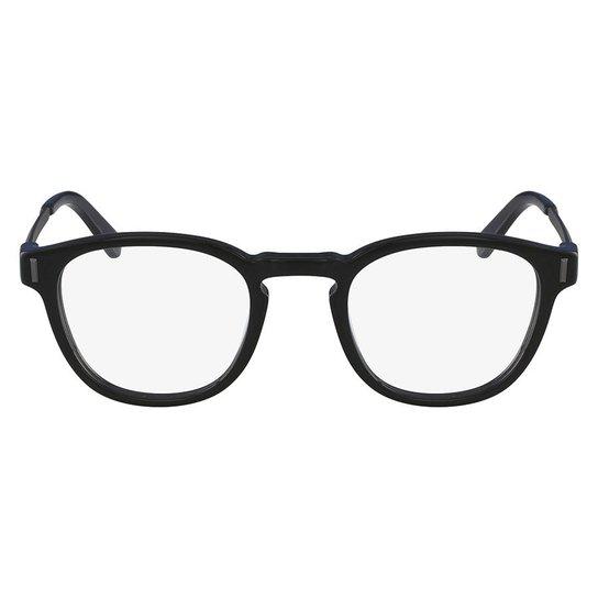 Armação Óculos de Grau Calvin Klein CK8552 001 50 - Preto - Compre ... 7387e22822