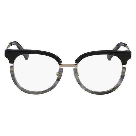 Armação Óculos de Grau Calvin Klein CK8061 076 50 - Preto - Compre ... 18606fdcac