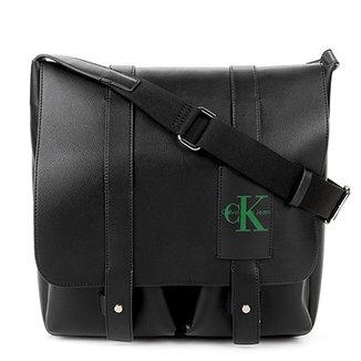 6bac95d9cacb7 Bolsa Carteiro Calvin Klein Masculina