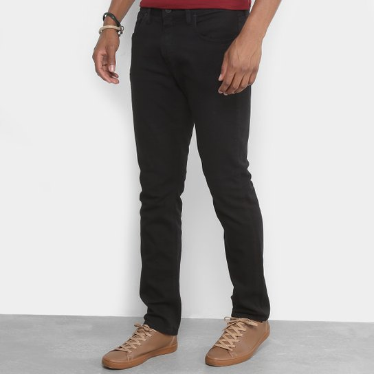 f1f80a0aa Calça Slim Calvin Klein Color Sarja Masculina - Compre Agora | Zattini