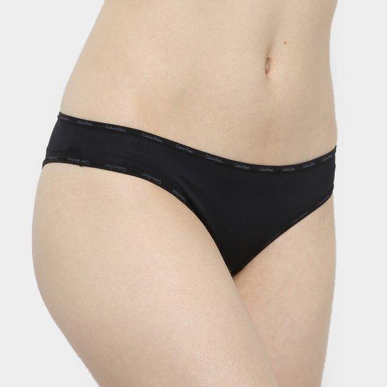 Calcinha Tanga Calvin Klein Básica - Compre Agora  5fd8bb0d5c8