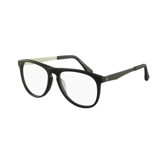 Óculos de Grau Calvin Klein Casual - Preto - Compre Agora   Zattini d597a339ea