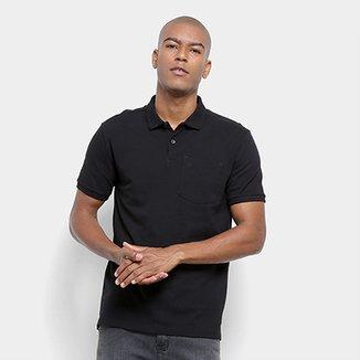 363615a644 Camisa Polo Calvin Klein Regular Bolso Bordado Gola 3D Masculina