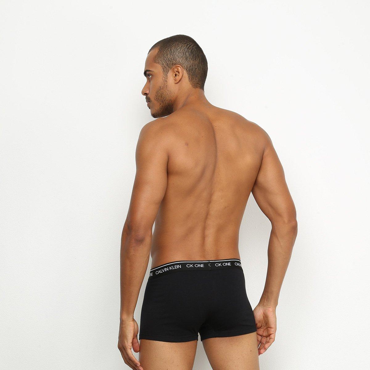 Cueca Boxer Calvin Klein Low Rise Trunk CK One Basic