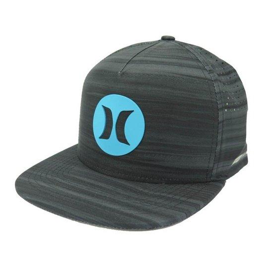Boné Hurley Aba reta Snapback Nike Dri-Fit Preto - Compre Agora ... dd6f1e1845b