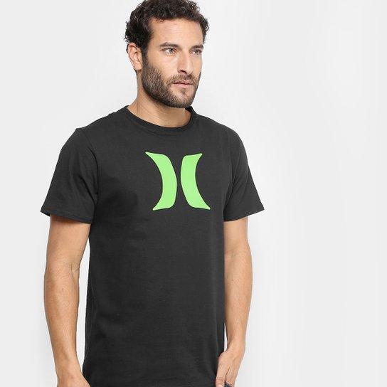 Camiseta Hurley Silk Icon Color Masculina - Compre Agora  14686325c48