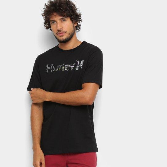 Camiseta Hurley Silk O O Florest Masculina - Preto - Compre Agora ... 8ba2860c7a7