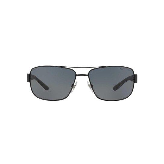 a4bb2d1dc Óculos de Sol Polo Ralph Lauren Retângular PH3087 Masculino | Zattini