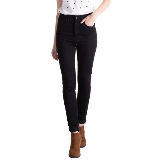 Calça Jeans Levis Mile High Super Skinny Feminina - Preto - Compre ... a5605c4d473