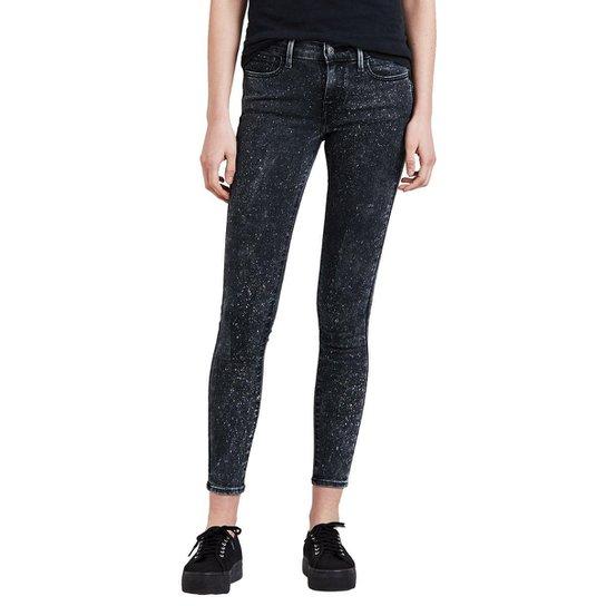 Calça Levi s Super Skinny Feminina - Preto - Compre Agora  5888e25a972