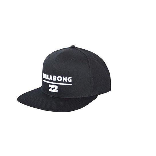 Boné Billabong Snap System Black White - Preto - Compre Agora  b1b1d4b79d9