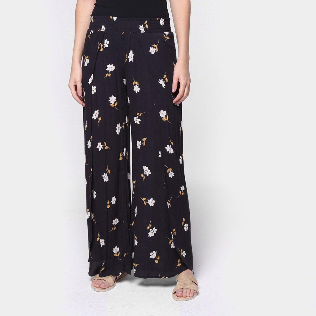 Calça Pantalona Billabong Wandering Soul Feminina