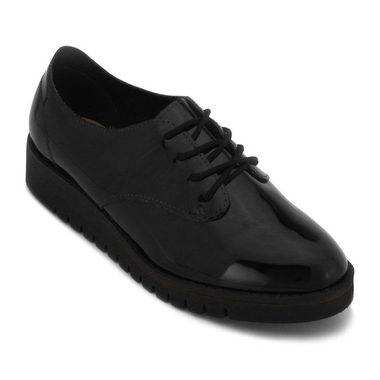 7cb12425cc Sapato Oxford Beira Rio - Preto - Compre Agora