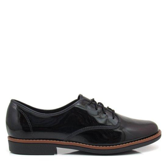 9daaa6c42f5 Sapato Oxford Feminino Tradicional Beira Rio 4170100 Verniz - Compre ...