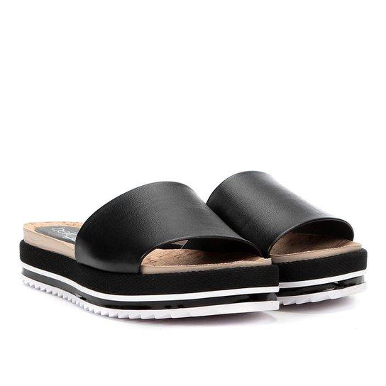 Sandália Plataforma Beira Rio Slide Feminina - Compre Agora  05615a07c3f