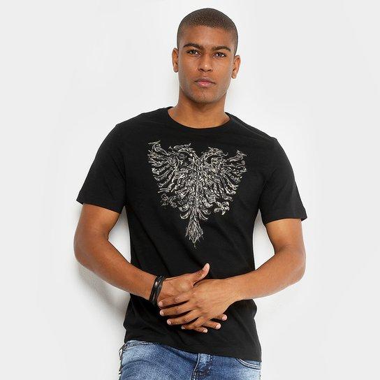 2a58074c02 Camiseta Cavalera Estampada Masculina - Compre Agora