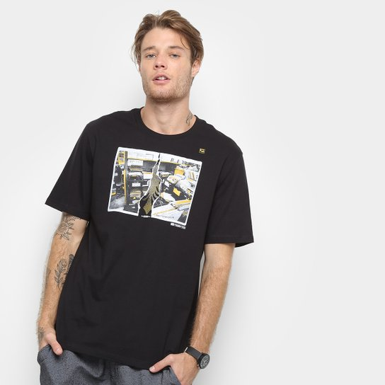 167604be40 Camiseta Cavalera Sebodiscos Masculina - Preto