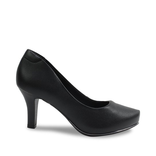 ddcd6a998 Scarpin Meia Pata Comfortflex Feminino - Compre Agora   Zattini