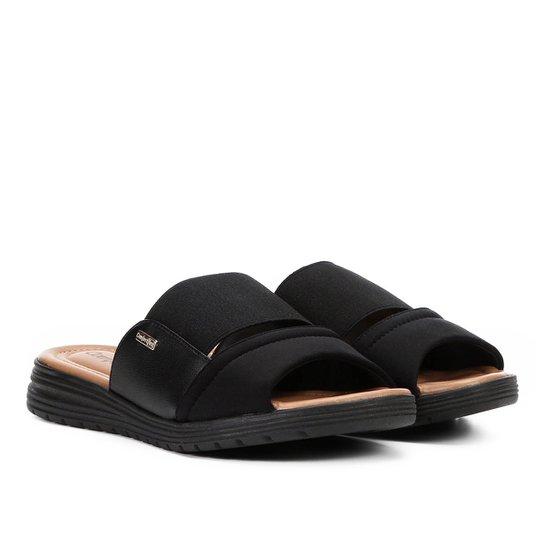 17b3ff535 Chinelo Comfortflex Slide Flat Elástico Feminino   Zattini