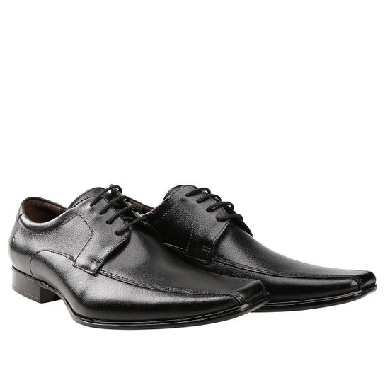 9ee176a061 Sapato Social Couro Democrata Premier - Preto - Compre Agora