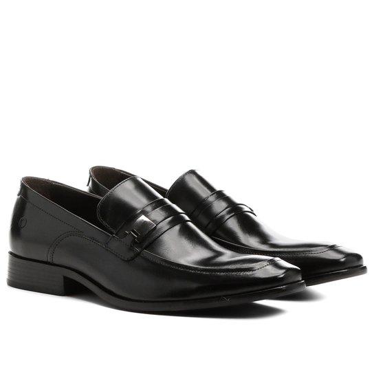 e6c6baa41f Sapato Social Democrata Lounge Solado Couro - Compre Agora